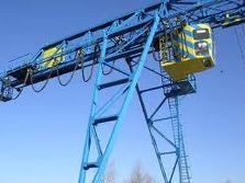Repair of gantry and bridge cranes to 100 t.
