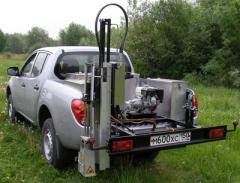 GPS Land tests (arable layer) agrochemical