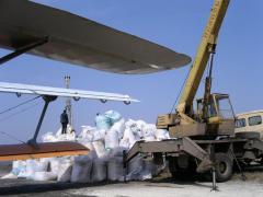 Внесение сыпучих минеральных удобрений - услуги