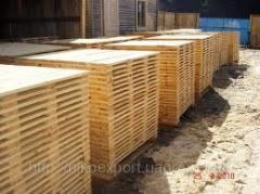 Export of timber, pallet preparation, bar, timber