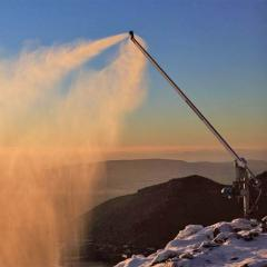 Rent and hire of systems of snowmaking. Rent of