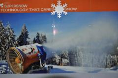 Hire and services of systems of snowmaking.