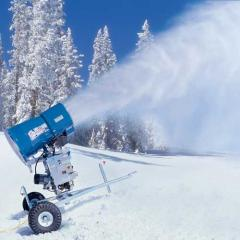 Hire, installation and service of snow canons,