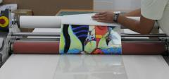 Drawings a protective film with the full-color