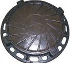 Molding landscape gardening of cast iron of