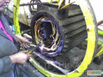 Service of common industrial electric motors with