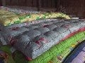 Tailoring of mattresses. Production of the