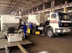 Ремонт и сервисное осблуживание сместительно-зарядных машин