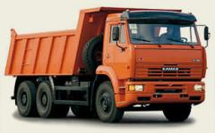 Lease of dump trucks, the dump truck for ren