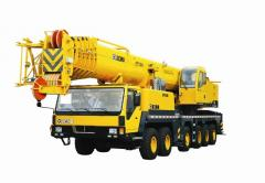 Rent of Tekhnolider-08 truck cranes