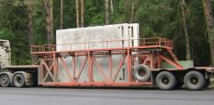 Automobile cargo delivery to all regions of