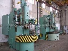Repair and modernization of turning and rotary