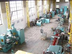 Repair and installation of the processing equipmen