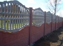 Услуги по строительству ограждений,  оград, ...