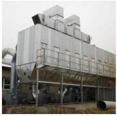 Installation of compressor stations, Ukraine,
