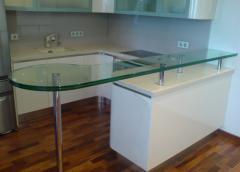 Glass installation