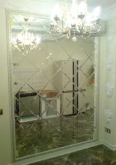 Installation of mirrors