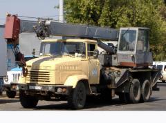Услуги автокрана КС-3575А