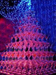 Пирамида шампанского!
