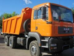 Доставка грузов самосвалом в Киеве и области