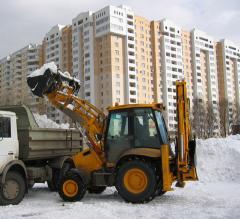 Уборка погрузка и вывоз снега