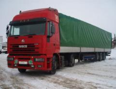 Road haulage on the Chernihiv region and Ukraine.