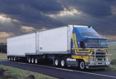 Road haulage of small consignments.