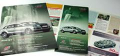 Advertizing in the press for motorists of Kiev and