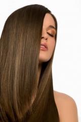 Био завивка, выпрямление волос