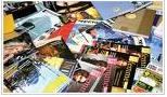 Офсетная печать разной продукции: книг, буклетов, визиток от Краматорской полиграфической компании