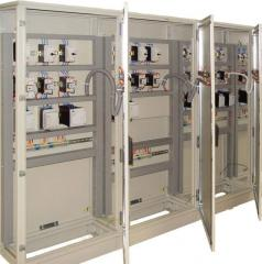 Design and assembly of control cabinets