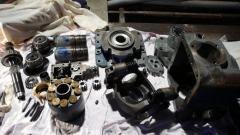 Major repair of axial and piston hydraulic pumps