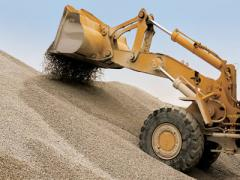 Crushed stone, sand, expanded clay, elimination