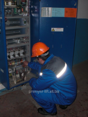 Repair of components of elevators and lifting