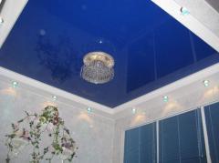 Installation of stretch ceilings Kramatorsk,