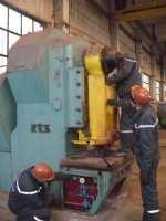Repair of a krivoshipny press of ZTS