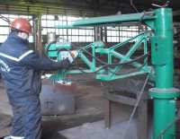 Adjustment of the ognerezny ASSh70 car, Ukraine