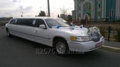 Hire, rent of Limousines of Lincoln in Kiev