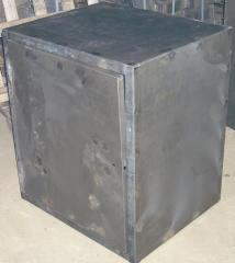 Production of cabinet metal furniture