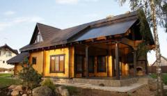 Строительство деревянных коттеджей по