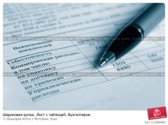 Бухгалтерский учет. Ведение налогового учёта...