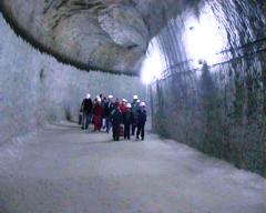 Экскурсия соляная шахта, Украина, Соледар