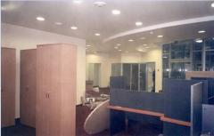 Монтаж гипсокартонных конструкций в офисах и