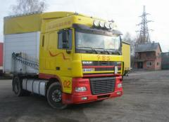International cargo transportation