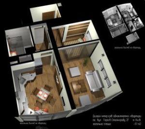 Design and decor of interiors