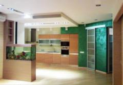Design projects of apartments