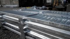 Thermal diffusion galvanizing of hardware,