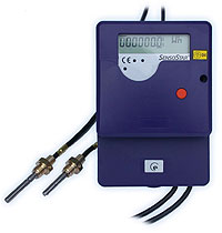 Mounting of heat meters