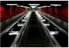 Restoration of the escalator