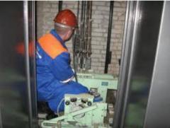 Replacement of elevators in Kiev